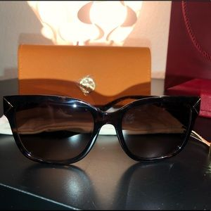 TORY BURCH Brown Gradient Sunglasses TY9050 137813